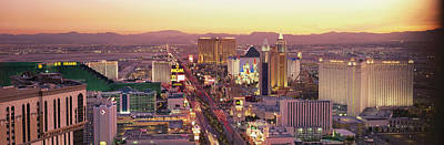 City Scenic Photograph - The Strip, Las Vegas, Nevada, Usa by Panoramic Images