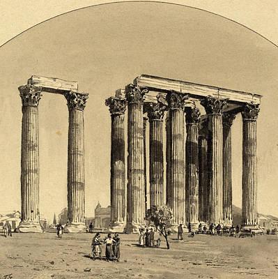 Themistocles Von Eckenbrecher German, 1842 - 1921 Art Print