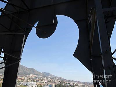 Photograph - Through - Fuengirola by Chani Demuijlder