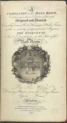 Male Art Photograph - Title Page by British Library