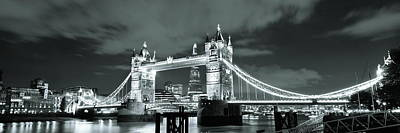 Photograph - Tower Bridge London by Songquan Deng