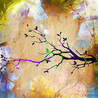 Tree Branch Collection Art Print by Marvin Blaine