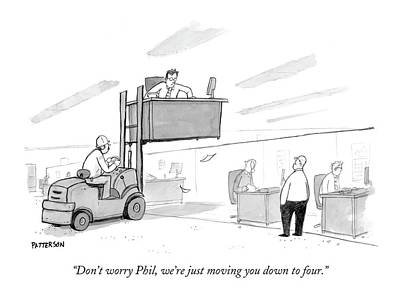 May 2nd Drawing - Don't Worry Phil by Jason Patterson