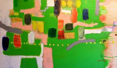 Painting - Green by Khalid Alaani