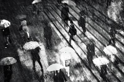 Rainy Photograph - Untitled by Teruhiko Tsuchida