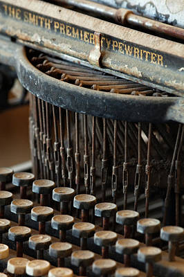 Typewriter Photograph - Usa, California, Bodie State Historic by Jaynes Gallery