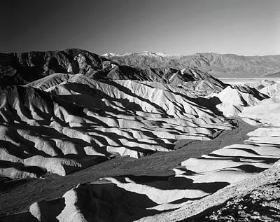 Zabriskie Point Photograph - Usa, California, Death Valley National by Adam Jones