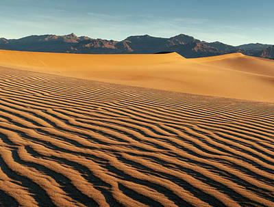 Usa, California, Death Valley National Print by Ann Collins