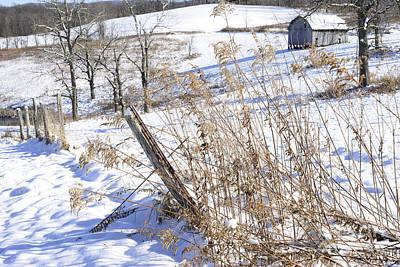 West Virginia Farm Art Print