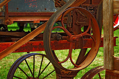 Art Print featuring the photograph Wheels Of Time by Rowana Ray