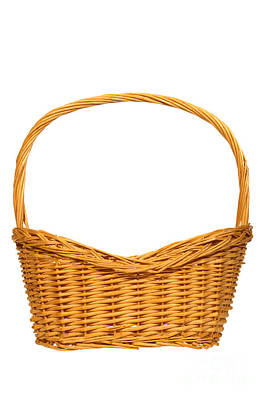 Photograph - Wicker Basket Number Seven by Olivier Le Queinec