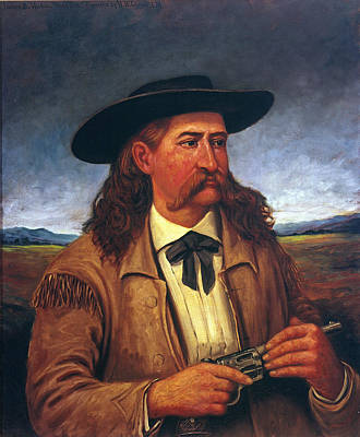 Police Officer Painting - Wild Bill Hickok (1837-1876) by Granger