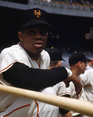 Home Run Photograph - Willie Mays by Retro Images Archive