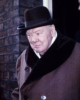 British Prime Minister Photograph - Winston Churchill by Retro Images Archive