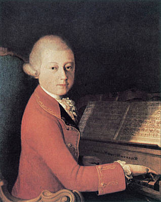 1770 Painting - Wolfgang Amadeus Mozart (1756-1791) by Granger