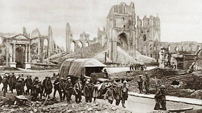 Ypres Photograph - World War I Prisoners by Granger