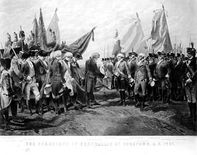 Yorktown: Surrender, 1781 Art Print by Granger