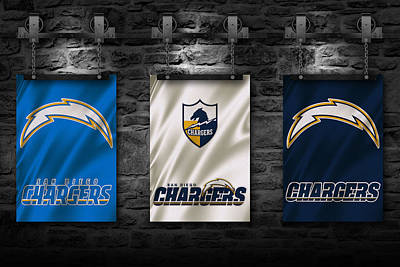 San Diego Chargers Art Print