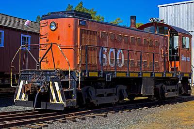 Train Yard Photograph - 600 Train Engine  by Garry Gay