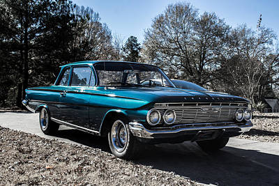 Photograph - 61 Chevrolet Biscayne by Shannon Harrington