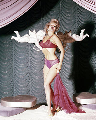 Photograph - Jayne Mansfield by Silver Screen