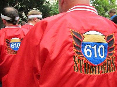 610 Stompers - New Orleans La Art Print