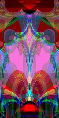 611 Digital Art - 611 - High Magic Room by Irmgard Schoendorf Welch