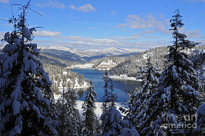 Photograph - 612a Lake Coeur D'alene by Cindy Murphy - NightVisions