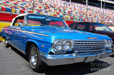Photograph - '62 Chevy Impala by Mark Spearman