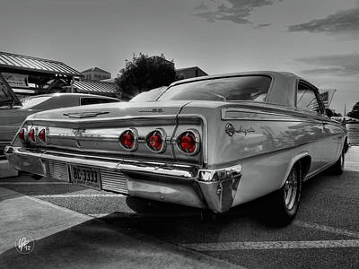 Chevy Photograph - '62 Impala Ss 001 by Lance Vaughn