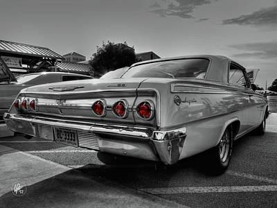 '62 Impala Ss 001 Art Print by Lance Vaughn