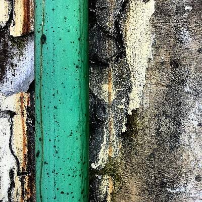 Abstract Wall Art - Photograph - Urban Wall 4 by Jason Michael Roust
