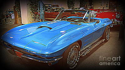 Photograph - 63 Corvette Sting Ray 1 by Kay Novy