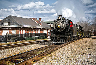 Photograph - 630 Rolls Through Appomattox by Mark East