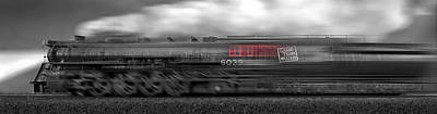 Panoramic Digital Art - 6339 On The Move Panoramic by Mike McGlothlen
