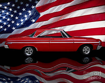 Photograph - 64 Dodge Polara 500 by Peter Piatt