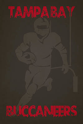 Tampa Bay Buccaneers Art Print