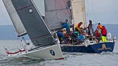 Photograph - Whidbey Island Race Week by Steven Lapkin