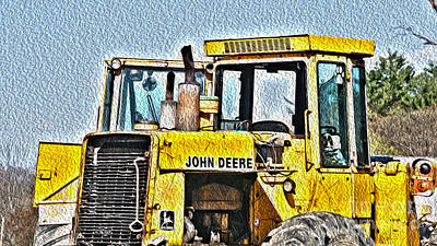 644e - Automotive Recycling Art Print