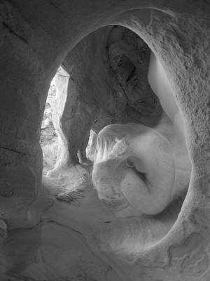 Photograph - 6469 Earth Egg Nude In Wind Cave by Chris Maher