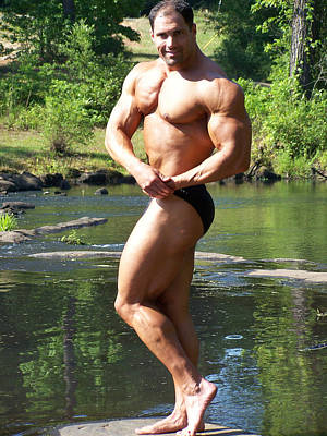 Photograph - The Art Of Muscle by Jake Hartz