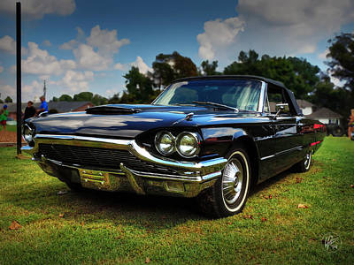 Photograph - '65 Thunderbird 001 by Lance Vaughn