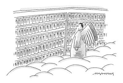 The Mick Drawing - New Yorker June 12th, 2006 by Mick Stevens
