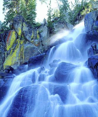 Lichen Photograph - Usa, California, Sierra Nevada Mountains by Jaynes Gallery