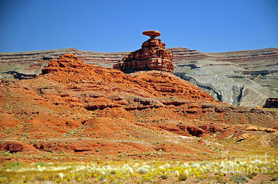 Photograph - 655p Mexican Hat Rock by NightVisions