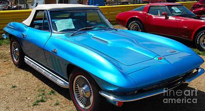 Photograph - '66 Corvette Convertible by Mark Spearman