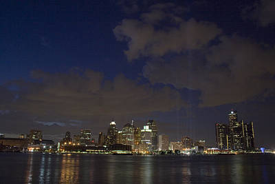 Detroit Photograph - Detroit Skyline by Gary Marx