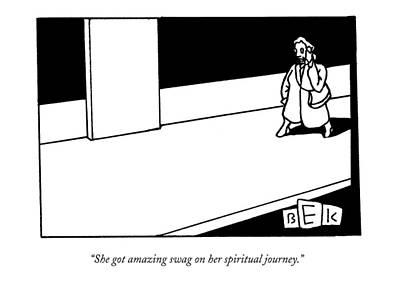 She Got Amazing Swag On Her Spiritual Journey Art Print