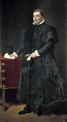 Velazquez, Diego Rodr�guez De Silva Art Print by Everett