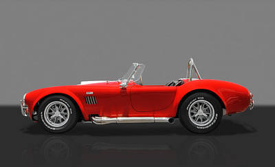 Photograph - 1967 427 Shelby Cobra Everett by Frank J Benz